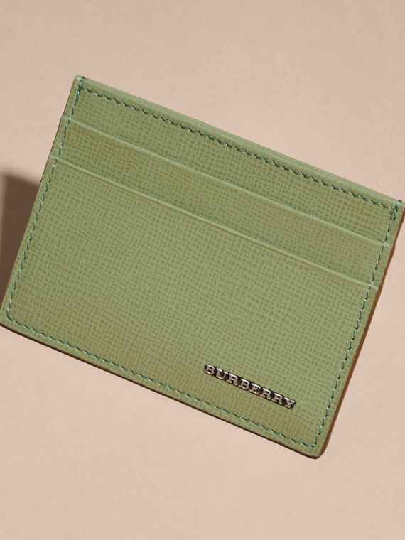London Leather Card Case in Antique Green - cell image 2