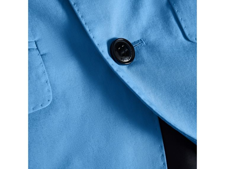 Cotton Poplin Blazer in Azure Blue - Boy | Burberry - cell image 1