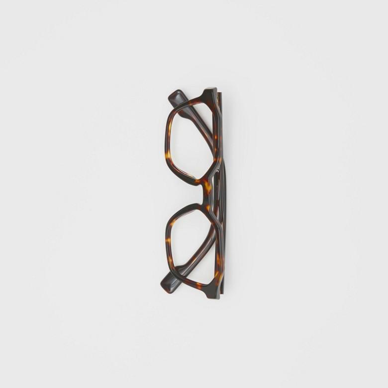 Burberry - Monture géométrique pour lunettes de vue - 3