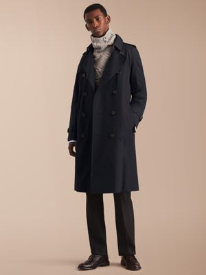 burberry trench coat outlet online t9zg  The Westminster  Long Heritage Trench Coat Navy