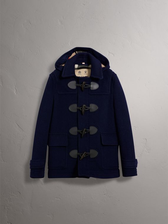 The Plymouth Duffle Coat in Navy - Men | Burberry - cell image 3