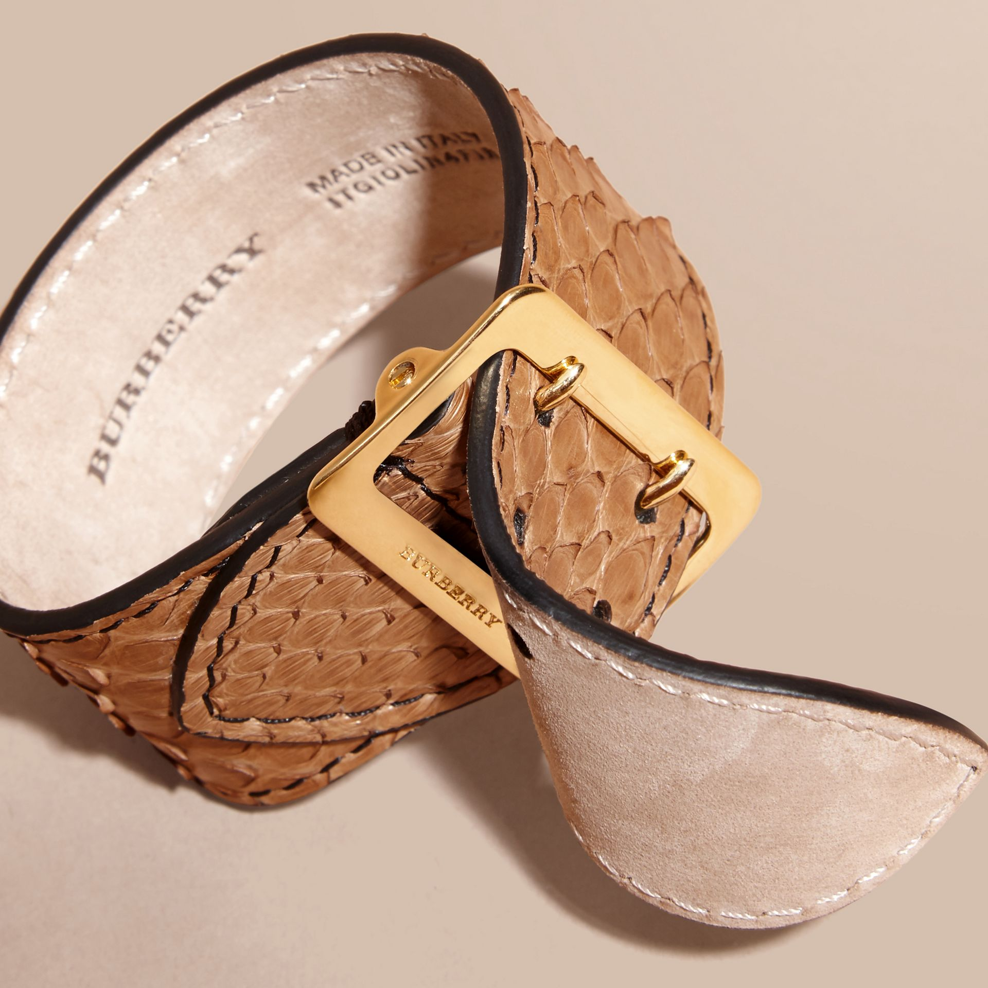 Python Cuff in Camel - Women | Burberry - gallery image 2