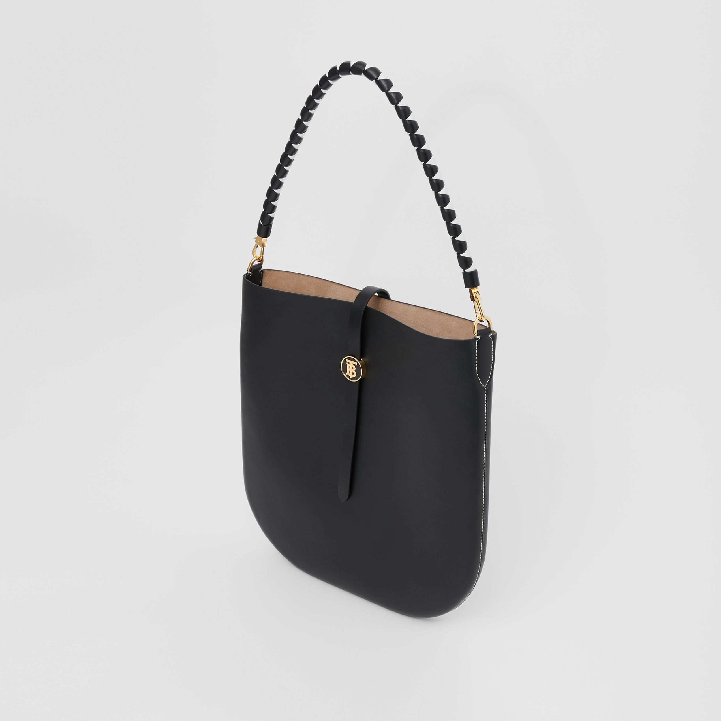 Leather Anne Bag in Black - Women | Burberry - 3