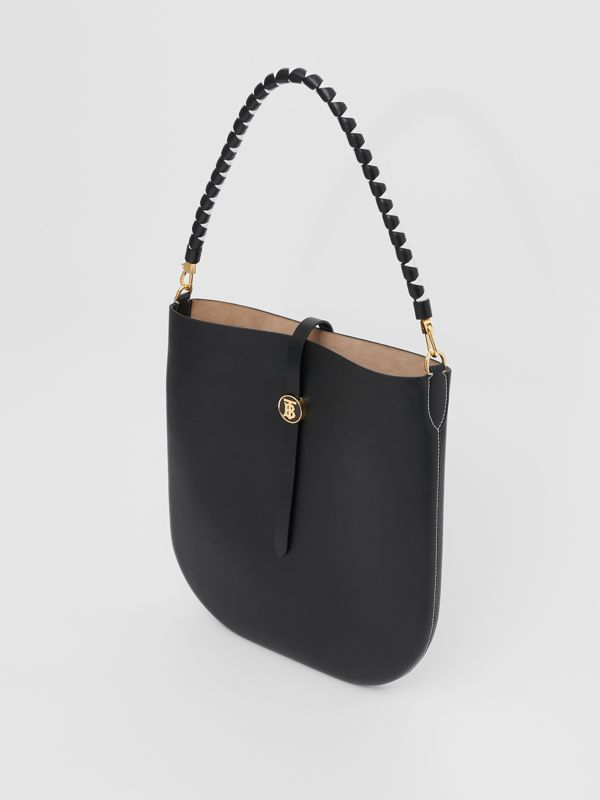 Leather Anne Bag in Black - Women | Burberry - cell image 3