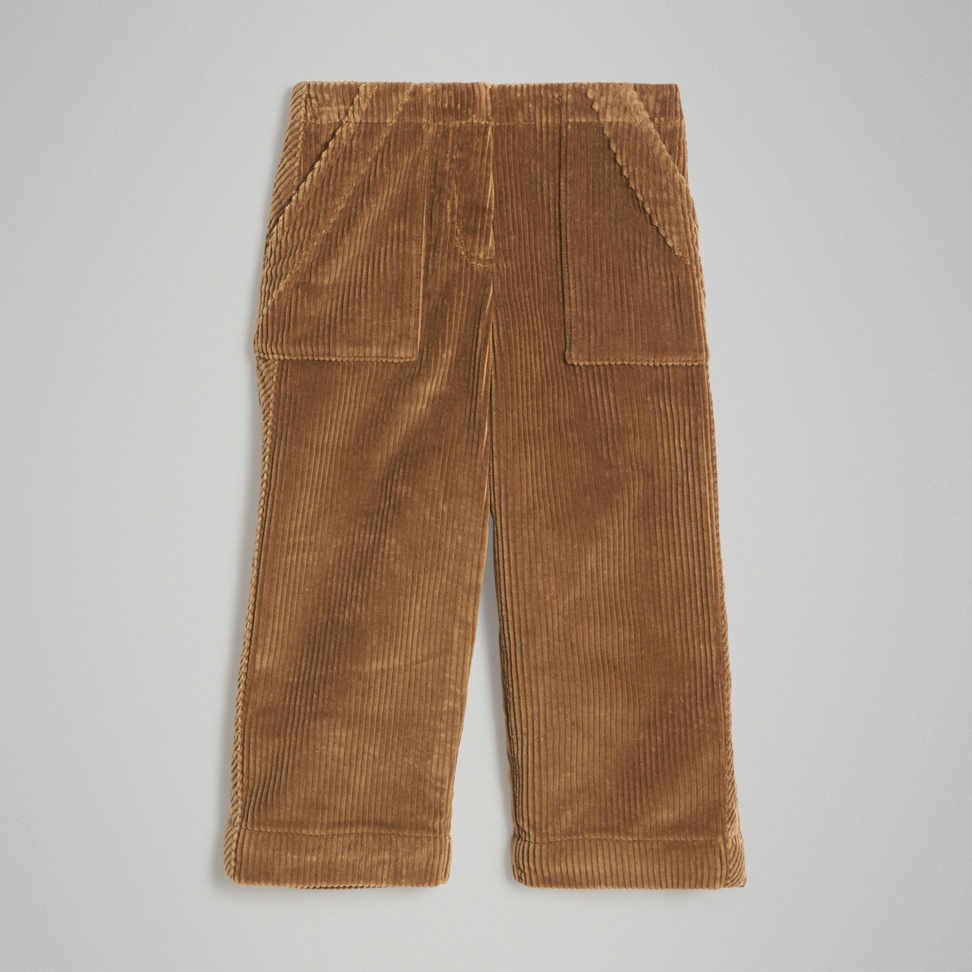 Pantalon ample en velours côtelé (Toffee) | Burberry Canada - photo de la galerie 0