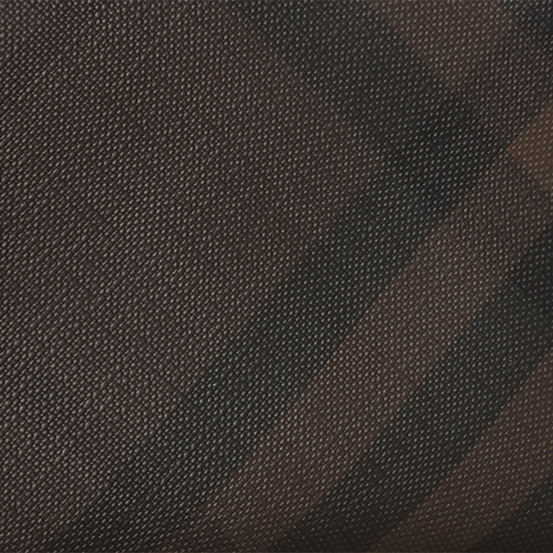 London Check Ziparound Wallet in Chocolate/black - Men | Burberry Canada - gallery image 2