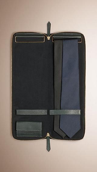 Grainy Leather Tie Case