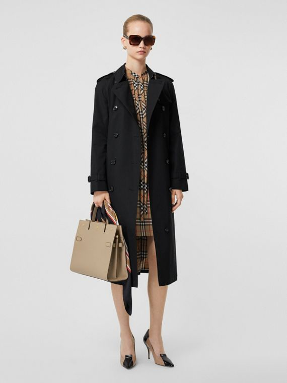 The Waterloo Heritage Trench Coat in Black