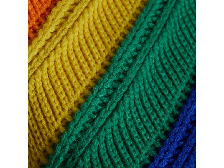 Rainbow Cashmere Beanie | Burberry - cell image 1