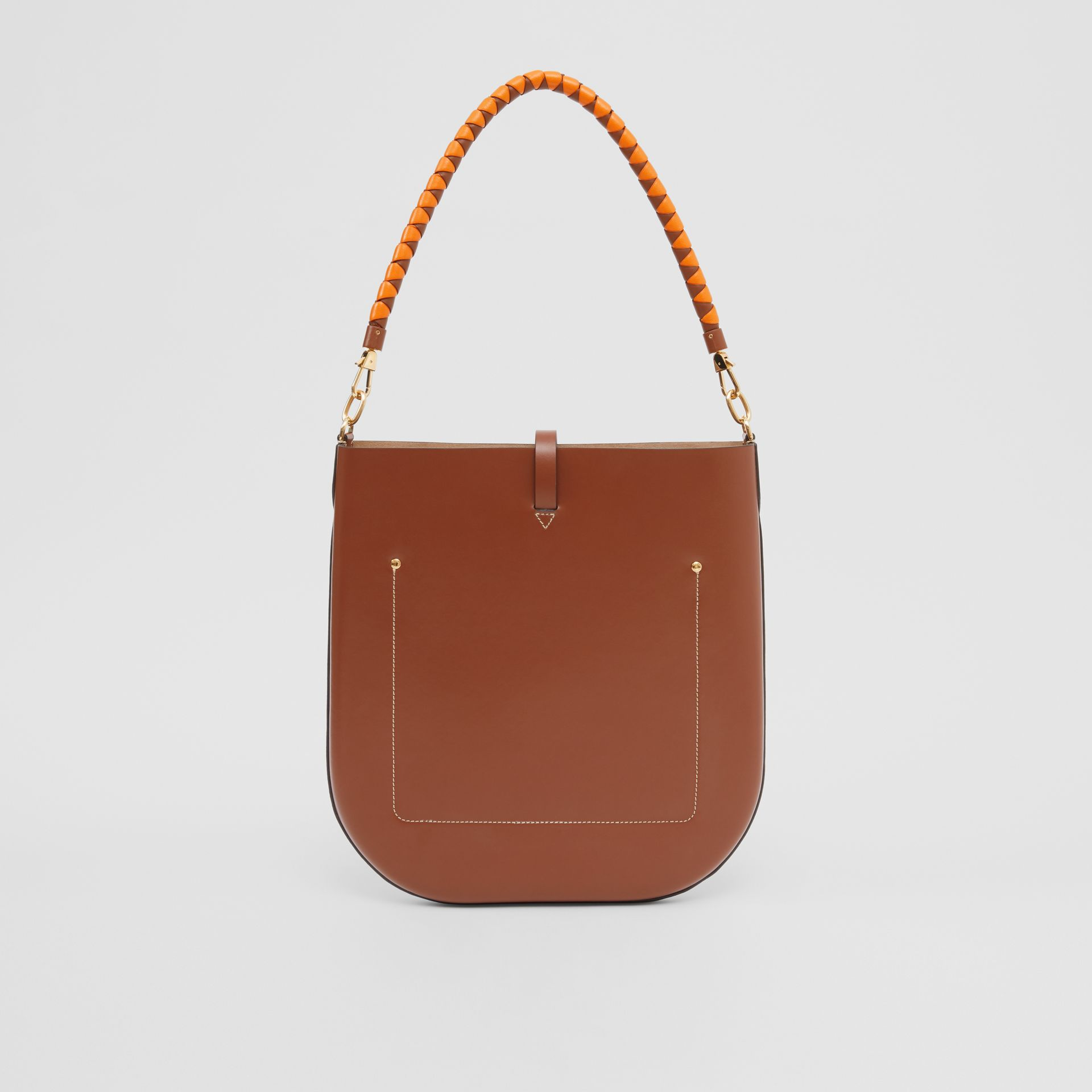 Leather Anne Bag in Tan - Women | Burberry Australia - gallery image 7