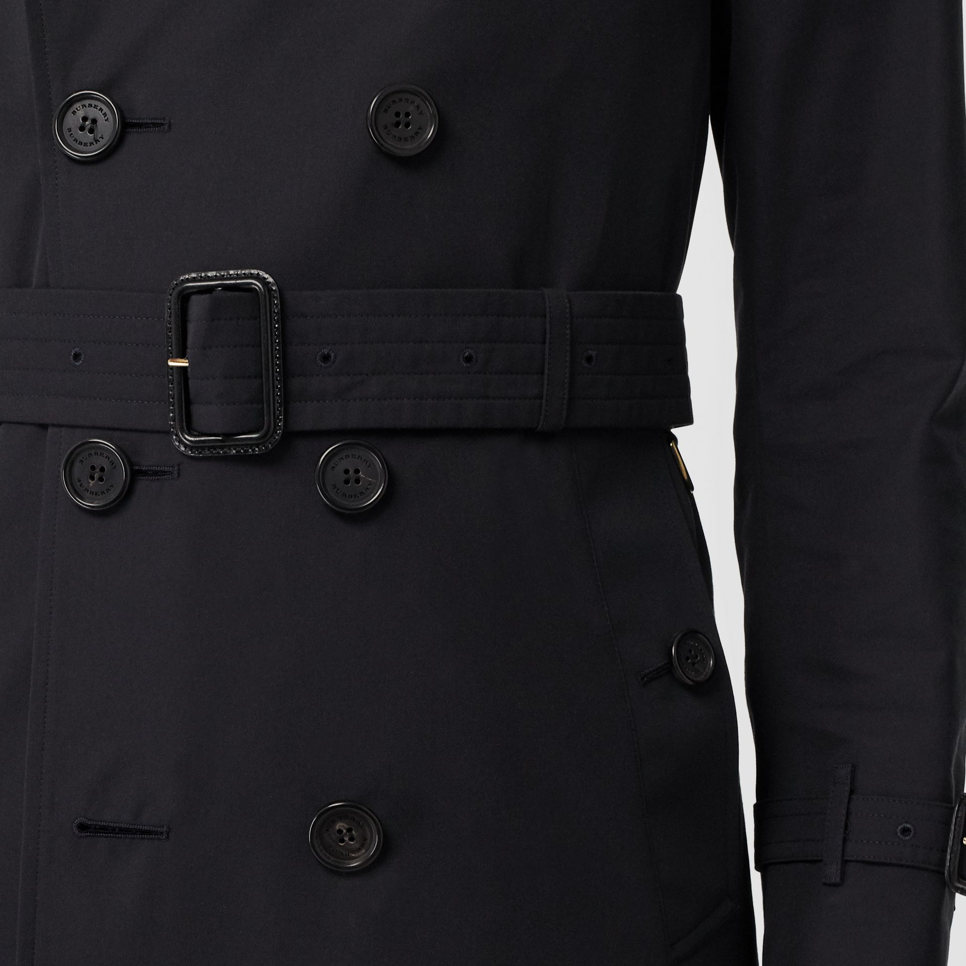 The Sandringham – Mid-length Trench Coat in Navy - Men | Burberry - gallery image 5