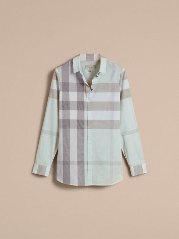 Pale opal Check Cotton Shirt Pale Opal - cell image 3