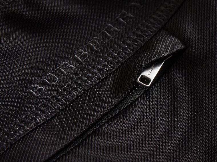 Pantaloni sportivi in twill robusto - Donna | Burberry - cell image 1
