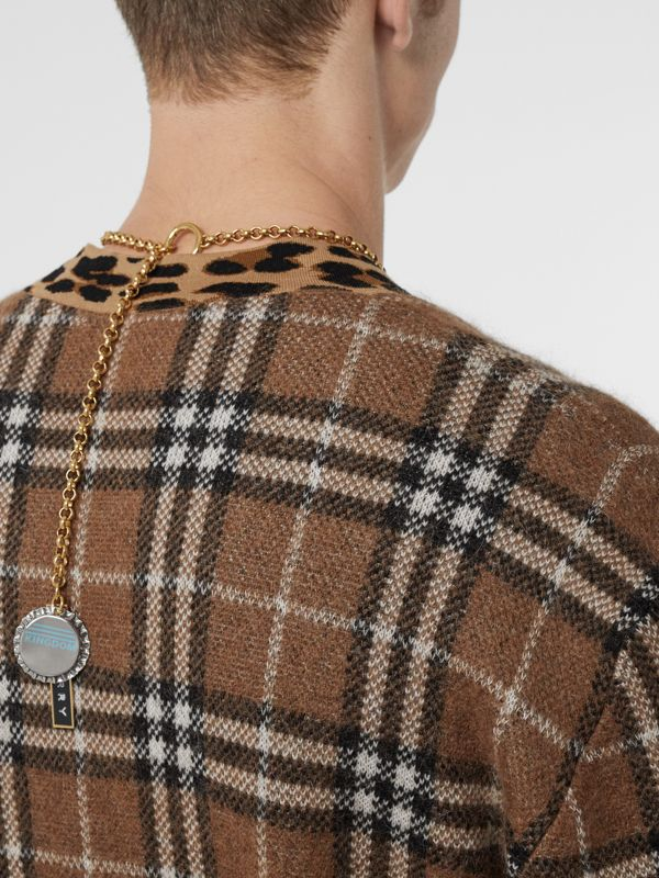 Bottle Cap and Logo Tag Gold-plated Chain Necklace in Light | Burberry - cell image 2
