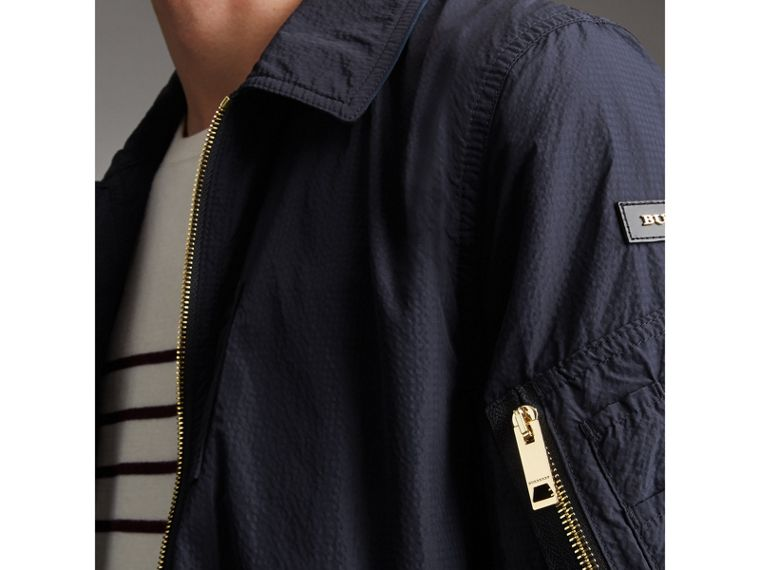 Seersucker Bomber Jacket - Men | Burberry Australia - cell image 1