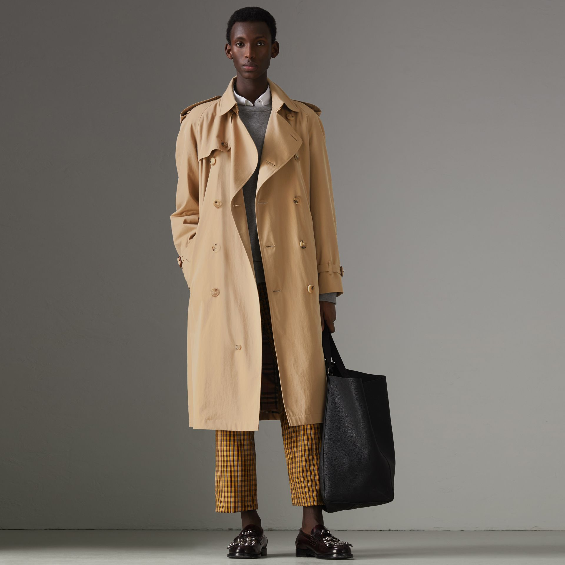 The Westminster Heritage Trench Coat in Honey - Men | Burberry Singapore - gallery image 0