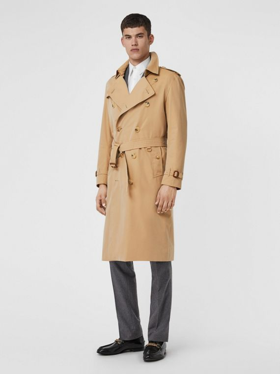Trench coat Heritage The Kensington lungo (Miele)