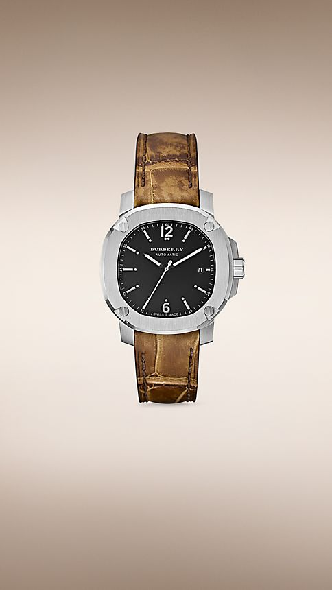 Brown The Britain BBY1202 43mm Automatic - Image 1