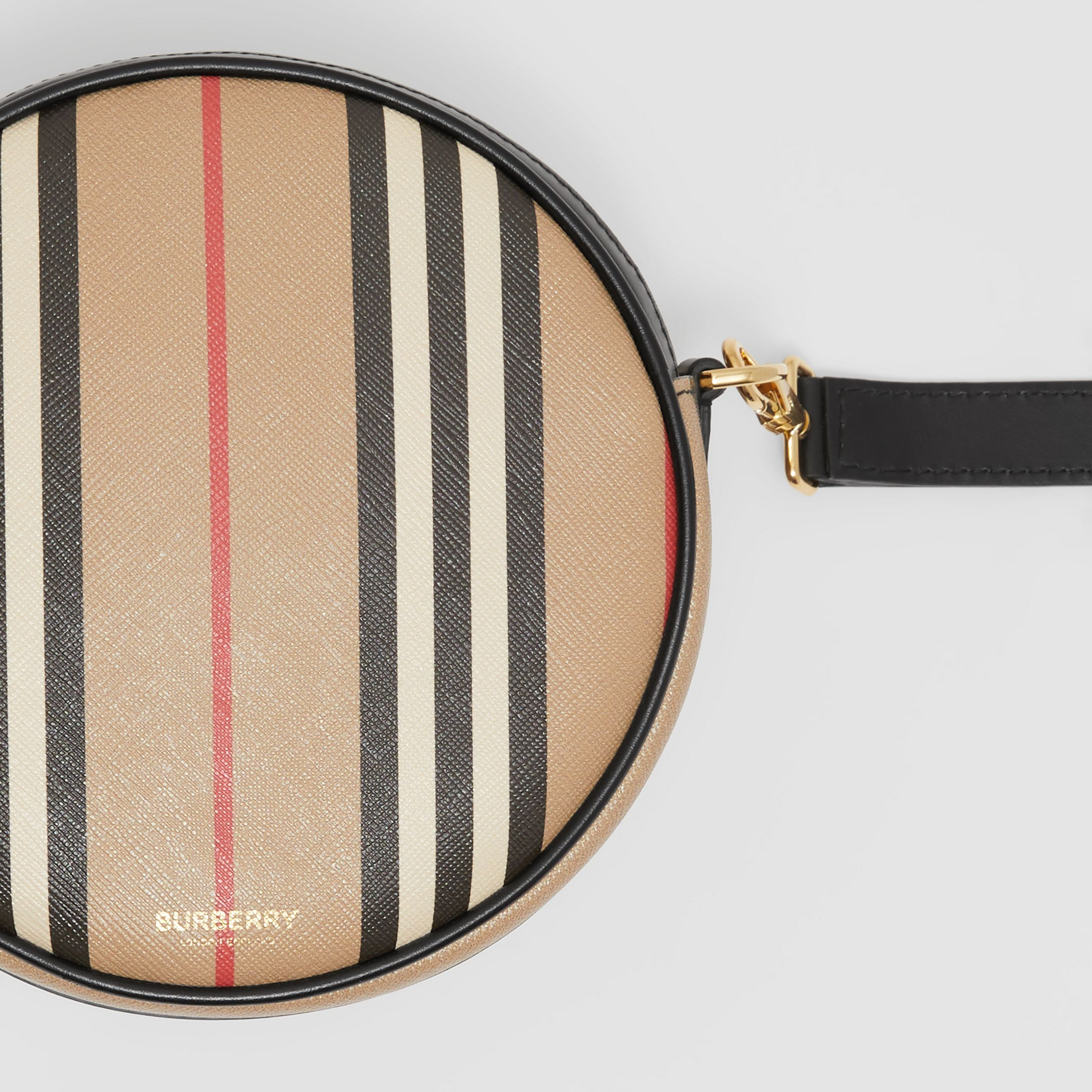 Icon Stripe E-canvas Louise Bag in Archive Beige - Women | Burberry Australia - 2