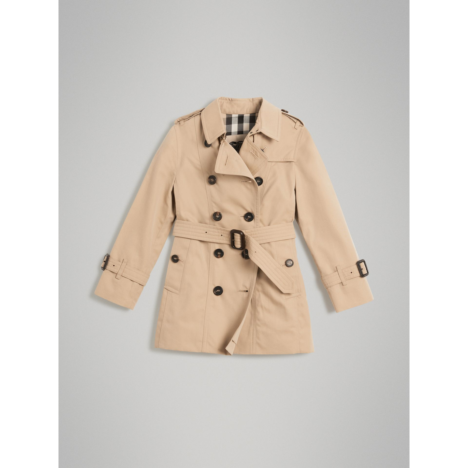 The Sandringham Trench Coat in Honey - Girl | Burberry - gallery image 0