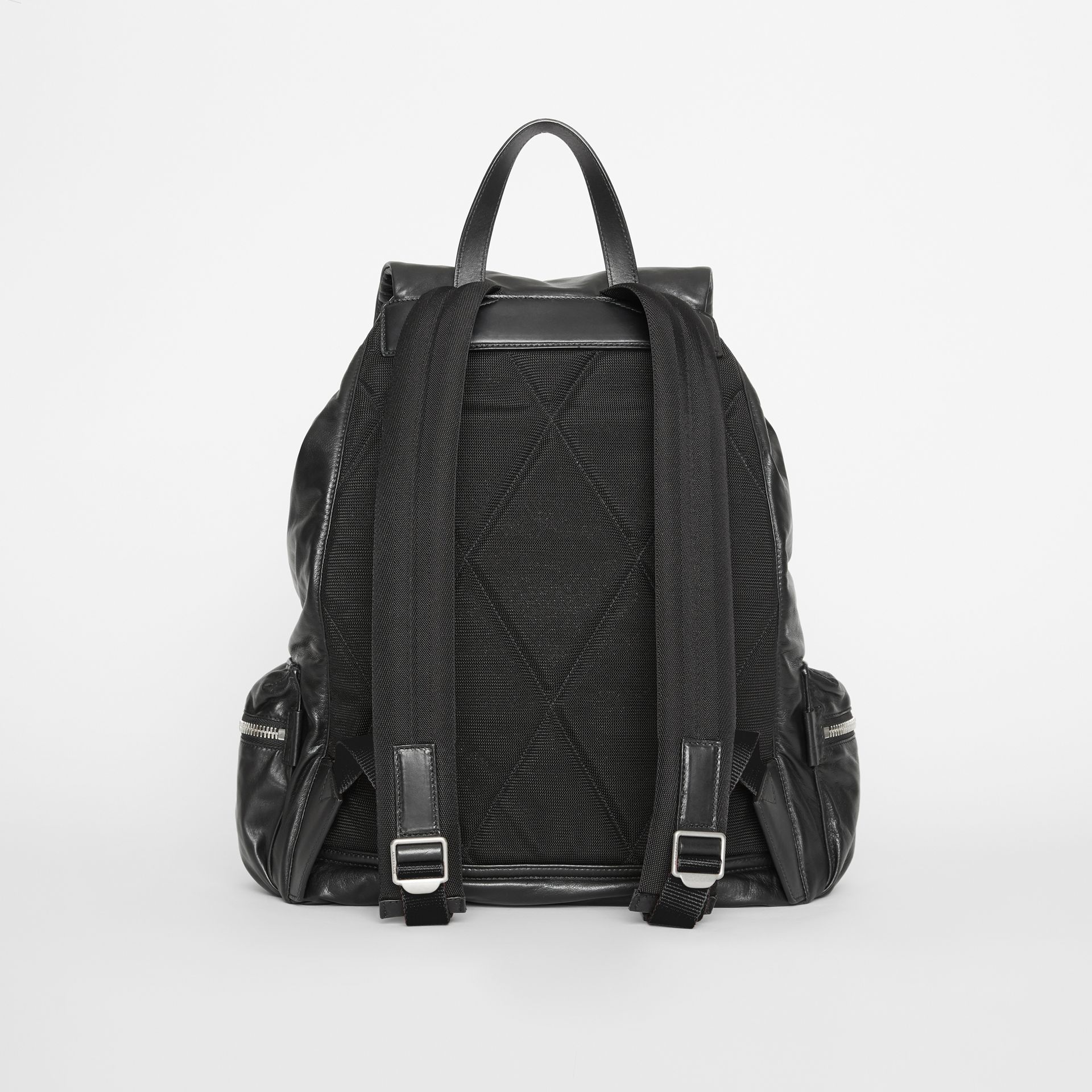 Sac The Rucksack extra-large en cuir nappa (Noir) - Homme | Burberry - photo de la galerie 7