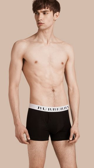 Stretch Cotton Boxer Shorts