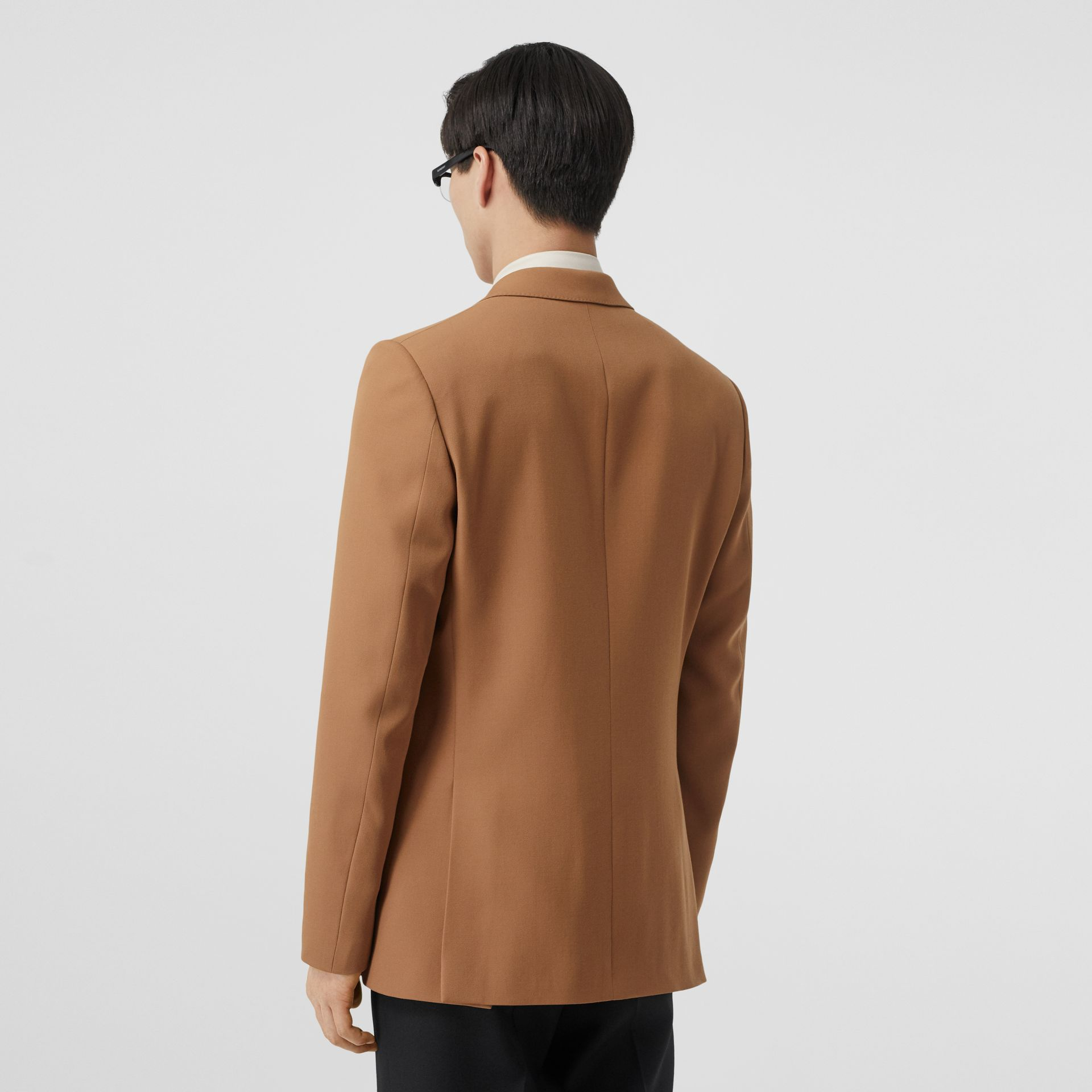 Camel Hair Coat with Detachable Wool Jacket in Warm - Men | Burberry - gallery image 2