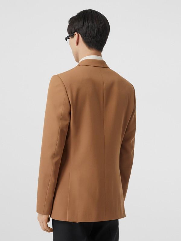 Manteau en poil de chameau avec veste amovible en laine (Camel Intense) - Homme | Burberry Canada - cell image 2