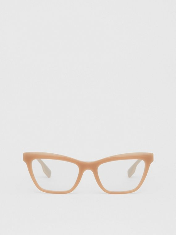 Rectangular Optical Frames in Peach