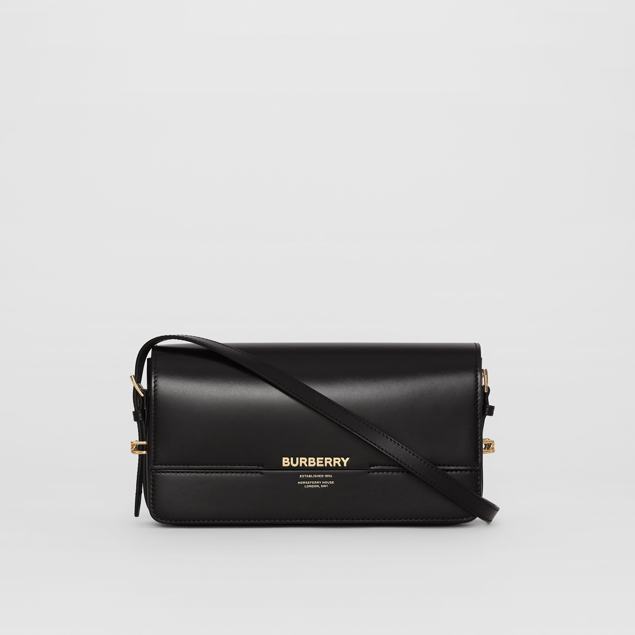 Mini Leather Grace Bag in Black - Women | Burberry - 1