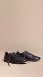 The Field Sneaker in Leather