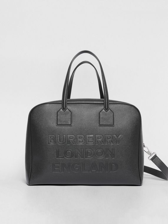 1f6dadba1ed0 Large Leather Cube Bag in Black