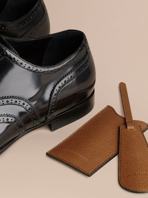 Leather Shoe Horn in Tan - Men | Burberry Canada - cell image 2