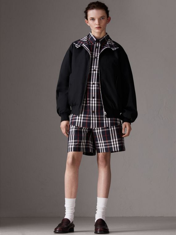 Gosha x Burberry Tailored Shorts in Navy | Burberry - cell image 3