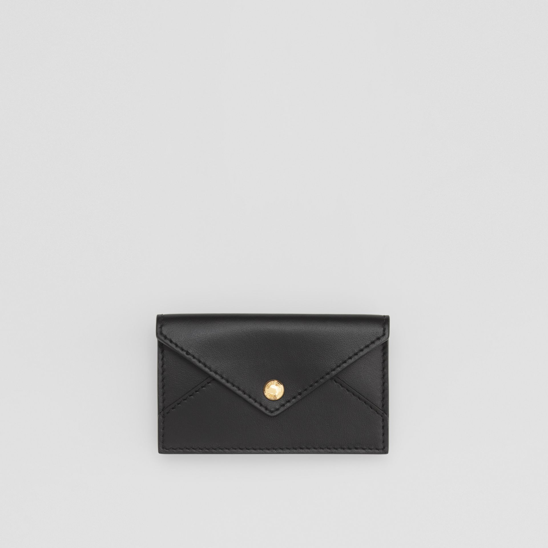 Quilted Lambskin Wallet with Leather Belt in Black - Women | Burberry United Kingdom - gallery image 6
