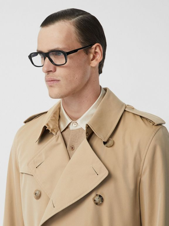 The Kensington - Trench coat Heritage longo (Mel) - Homens | Burberry - cell image 1