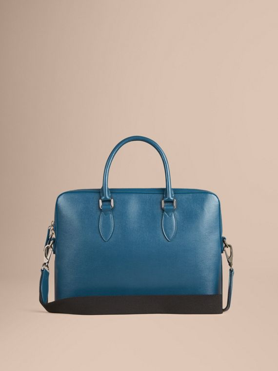 Mineral blue The Slim Barrow in London Leather Mineral Blue - cell image 3