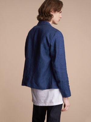 Linen Workwear Jacket