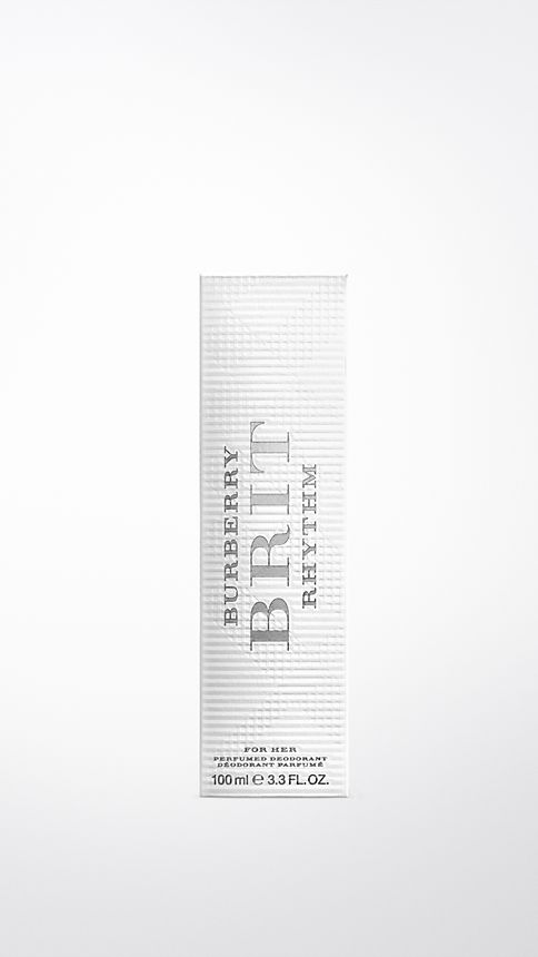 White Burberry Brit Rhythm Deodorant Spray 100ml - Image 2