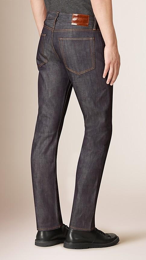 Mid indigo Straight Fit Deep Indigo Jeans - Image 2