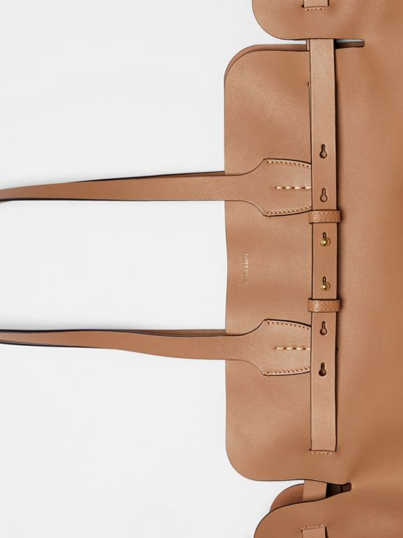 The Medium Soft Leather Belt Bag in Light Camel - Women | Burberry - cell image 1
