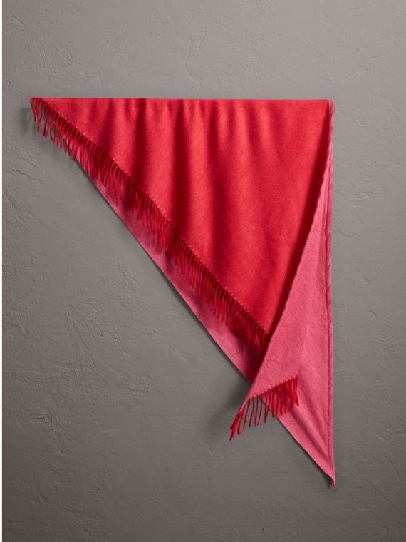 The Burberry Bandana in Cashmere in Bright Red