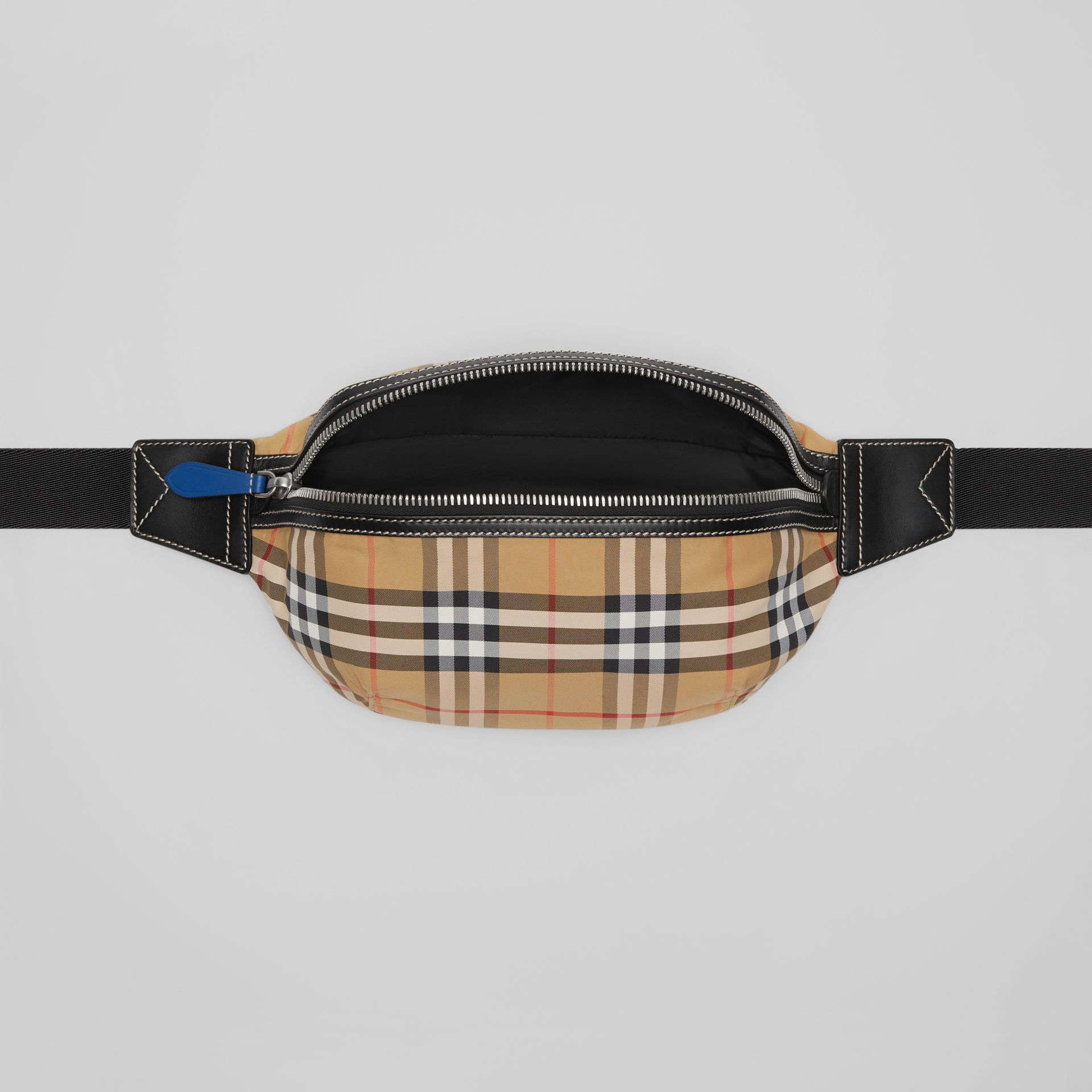 Medium Vintage Check Bum Bag in Antique Yellow | Burberry - gallery image 3
