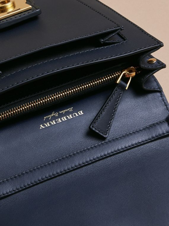 The Small DK88 Satchel in Dark Navy - Men | Burberry United Kingdom - cell image 3