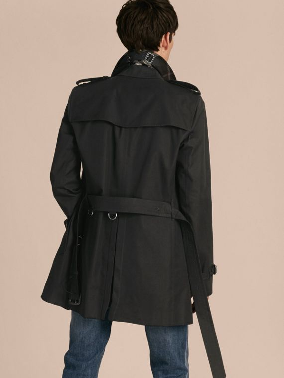 Trench coat in gabardine di cotone - Uomo | Burberry - cell image 2