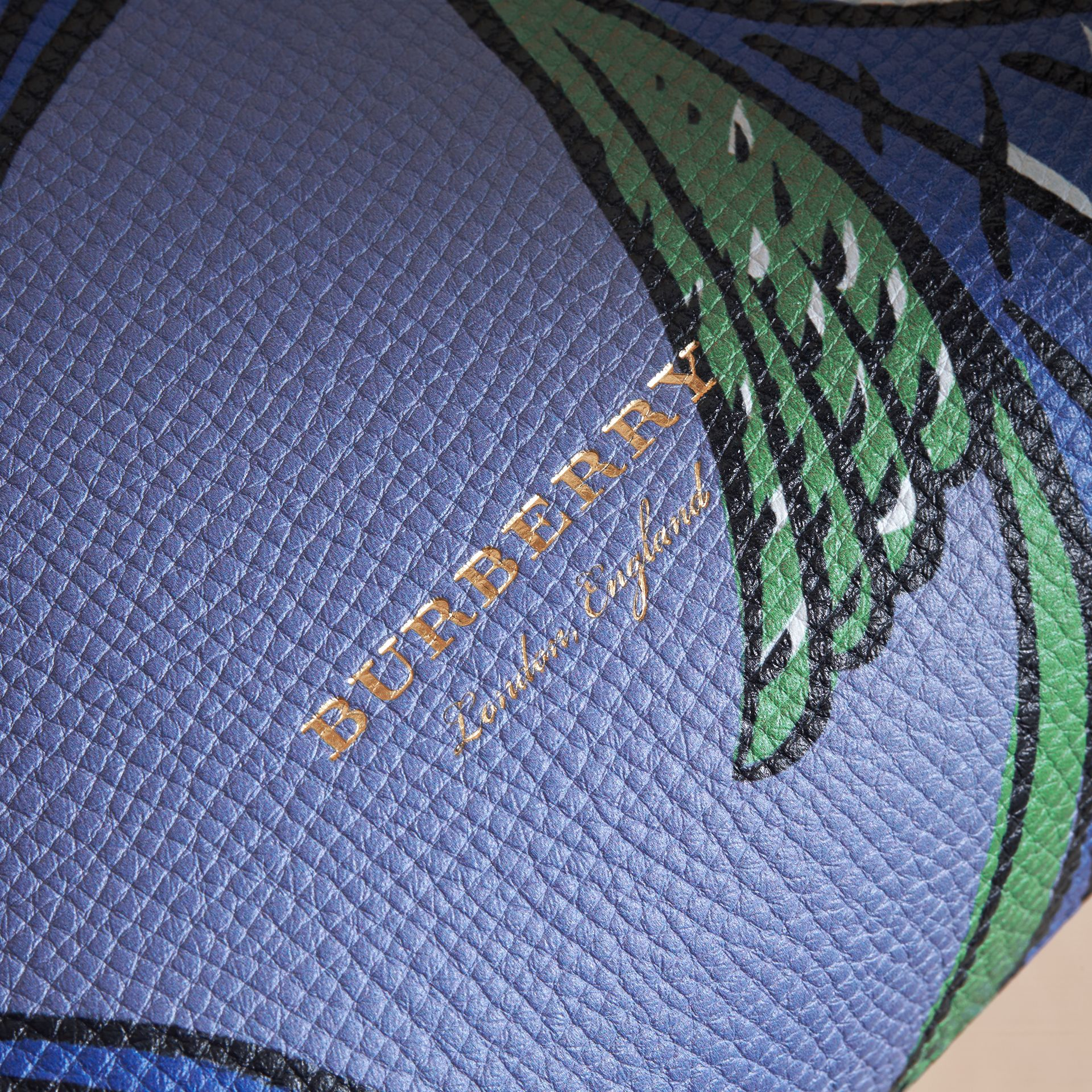 The Medium Banner in Beasts Print Leather - Women | Burberry - gallery image 2