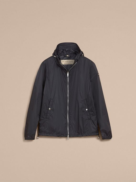 Hooded Super-lightweight Jacket Navy - cell image 3