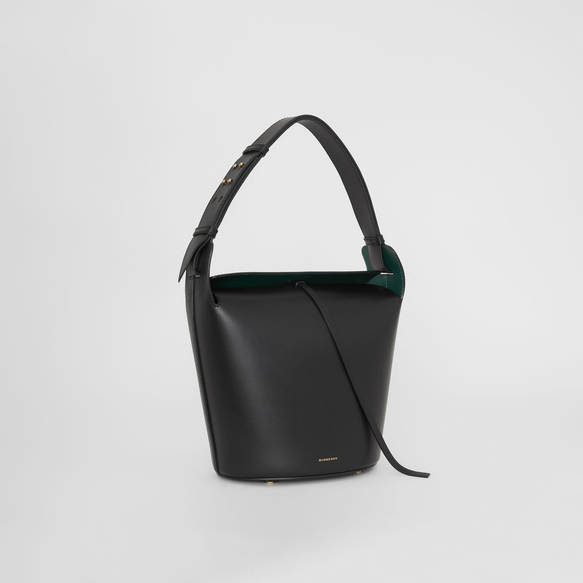 Sac The Bucket moyen en cuir (Noir) - Femme | Burberry Canada - photo de la galerie 6