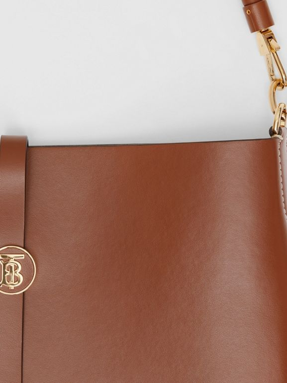 Leather Anne Bag in Tan - Women | Burberry Australia - cell image 1