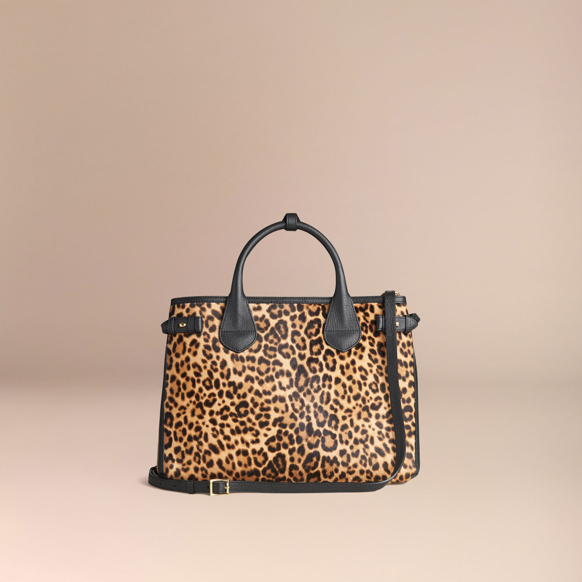 Camel The Medium Banner in Animal Print Calfskin - gallery image 3